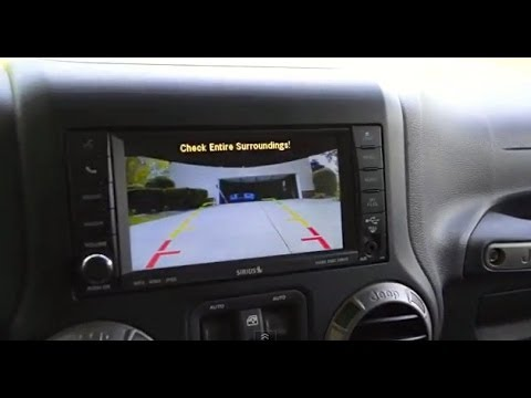 Jeep Wrangler How to Install Rear Camera Part 2 JK JKU YouTube – Jeep Backup Camera Wiring Diagram