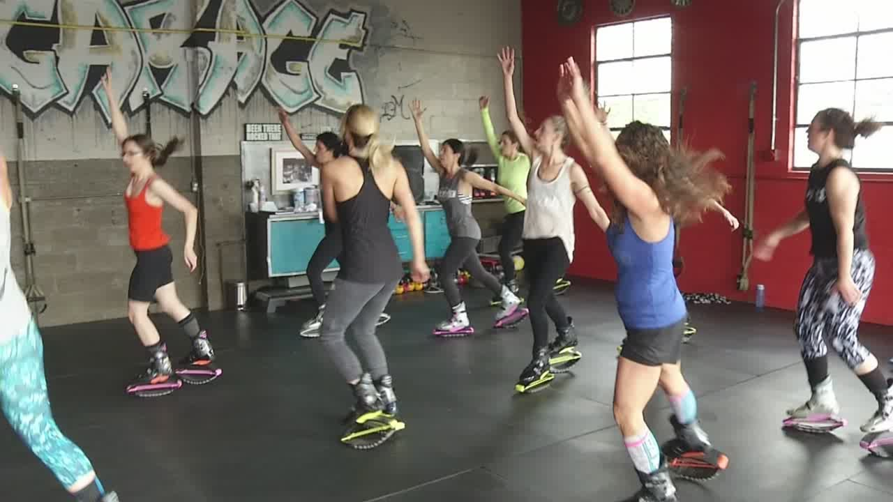 Fitness studio started in a garage youtube