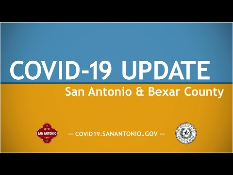 COVID-19 Update San Antonio And Bexar County 6/18/20