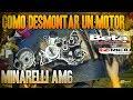 Como Desmontar Un Motor Minarelli Am6 Por Completo