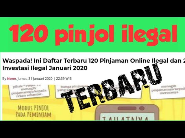 Daftar Pinjol Ilegal Di Blokir 2020 120 Pinjol Ilegal Di Temukan Baru Lagi Pinjol Makin Menjamur Youtube