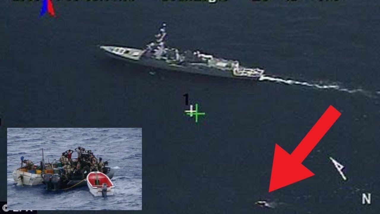150M Views   SHOCKING Pirates Fail   2 Somali Pirates Killed
