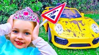 Car washing - Kids Song by Maya and Mary