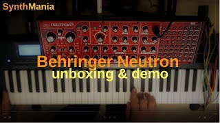 Behringer Neutron unboxing & demo