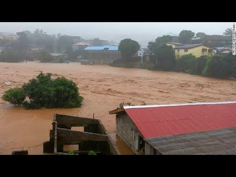 Hundreds feared dead in Sierra Leone mudslides