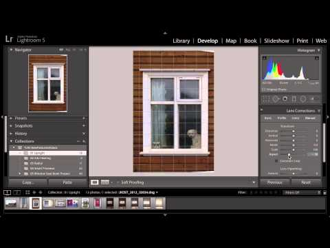 Lightroom 5: Correcting Perspective Using Upright