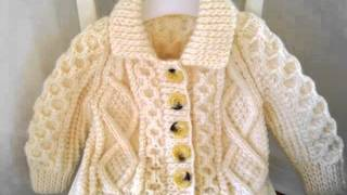 Handknit Cardigan For Baby