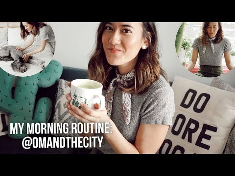 HEALTHY MORNING ROUTINE IN NYC with @omandthecity | HOW TO BE A MORNING PERSON