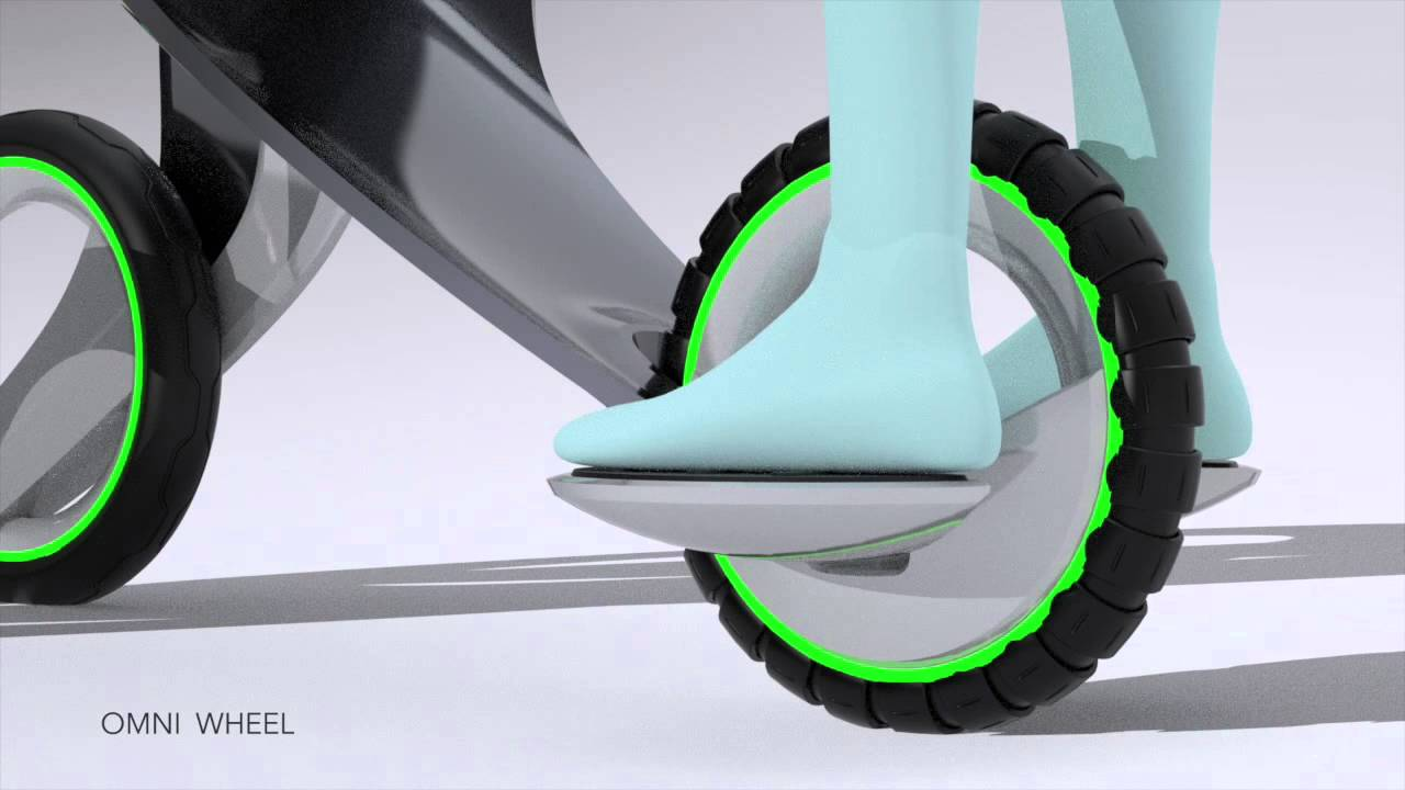 Future Electric Stroller Concept By Ken Nagasaka Youtube