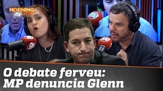 O debate ferveu: MP denuncia Glenn Greenwald
