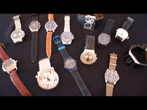 State of the watch collection - watch review - start a watch collection