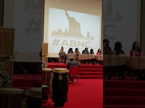 Yvette Carnell setting it off in the All Black National Convention #ABNC