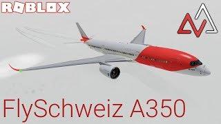 Roblox Airline Review: FlySchweiz