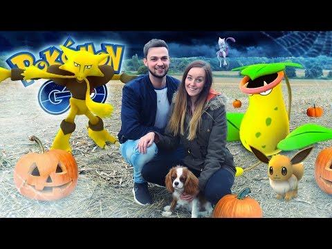 Pokemon GO (Ali + Clare) - NEW POKEMON, HALLOWEEN SHOPPING + BROKEN PHONE!
