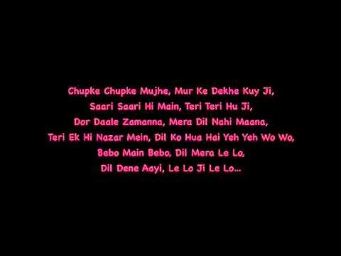 Kambakht Ishq Bebo Main Bebo Lyrics