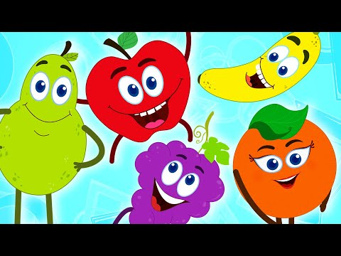 Fruits Finger Family | Learn Fruits | Nursery Rhymes | Baby Songs by HooplaKidz EP 14
