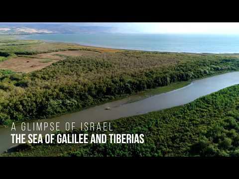 A Glimpse Of The Sea Of Galilee & Tiberias