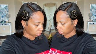 Super Affordable Short Bob Wig Install   Beginner Friendly   SNS Hair