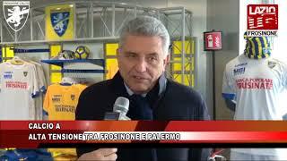 CALCIO SERIE A ALTA TENSIONE TRA FROSINONE E PALERMO