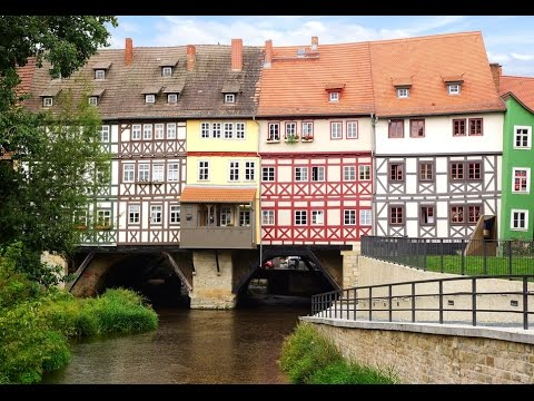 Top Tourist Attractions in Erfurt: Travel Guide Germany