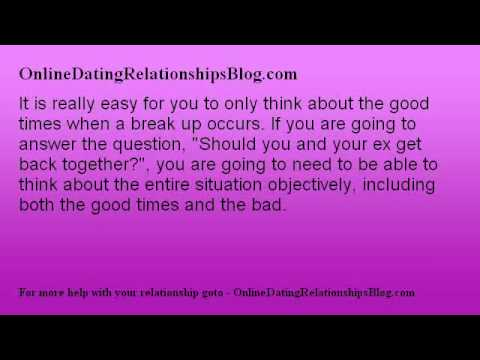 How to rekindle a relationship with an ex