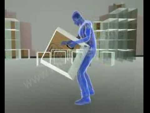 Accident Animation | Workers Compensation: Lifting Box