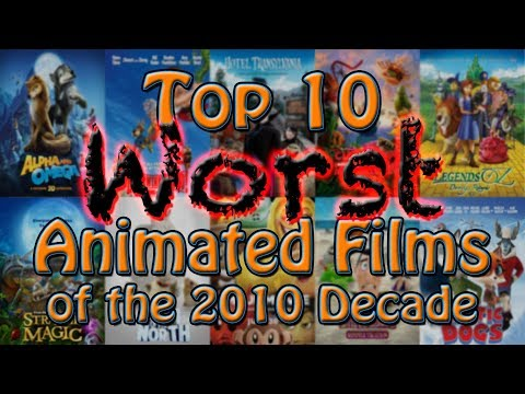 Top 10 Worst Animated Films of the 2010 Decade