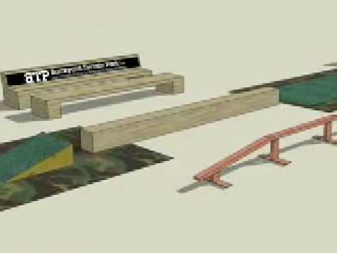 Backyard Terrain Park animation - YouTube