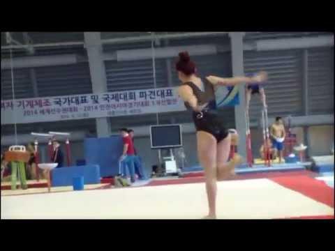 SEO Yi Seul 서이슬 FX 2014 Korean Trials Qualifications