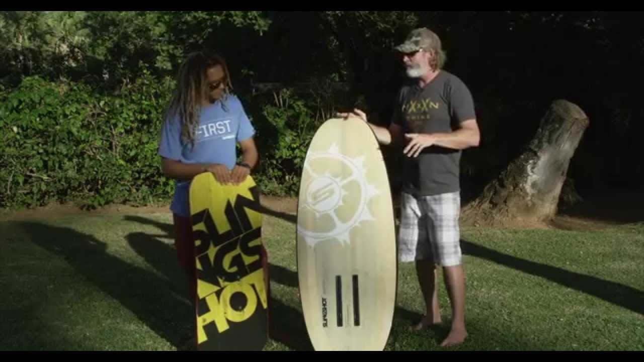 Behind The Alien Air Foil Board with Tony Logosz