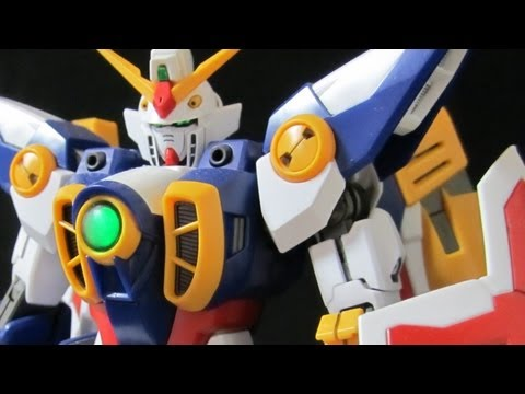 MG Wing Gundam (Part 6: Transformation) Gundam W Bird Mode review