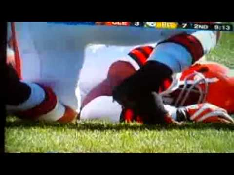 STEELERS James Harrison hard hit on Browns Joshua Cribbs NFL to review Harrison hit