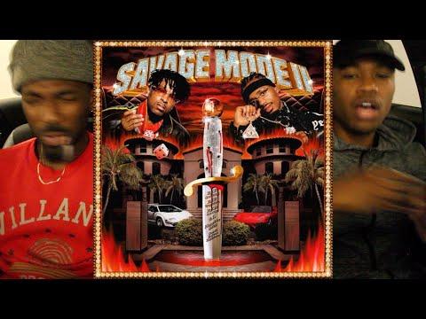 21 Savage & Metro Boomin – SAVAGE MODE 2 FIRST REACTION/REVIEW