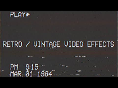 Retro Vintage Video Editing Apps 2019 Youtube
