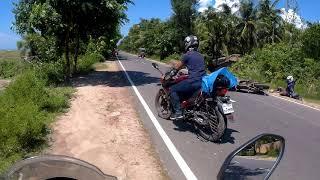 Motor bike accident in Merin Drive