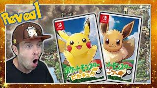 POKÉMON SWITCH ENTHÜLLT! Pokémon Let's Go Pikachu & Pokémon Let's Go Eevee 🎮 Trailer Live Reaktion