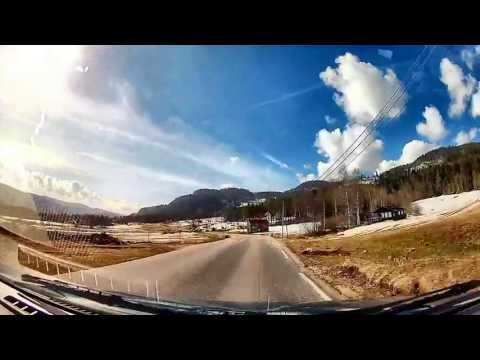 Norway Roads: Byremo to Konsmo in Audnedal, Vest Agder