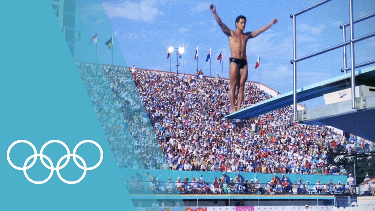 Olympic Diving at its best