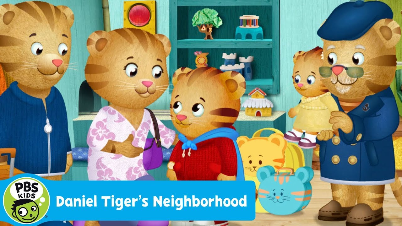 DANIEL TIGER\'S NEIGHBORHOOD | Mom and Dad are Going on a Trip | PBS ...