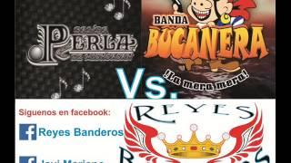 Megamix Banda Bucanera Vs Banda Perla de Michoacan