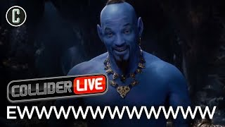 Will Smith as the Genie Looks Ridiculous - Collider Live #70