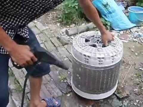 Hướng dẫn tự vệ sinh, bảo trì máy giặt