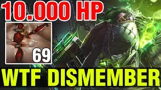 STRONGEST DISMEMBER EVER !! - PUDGE WITH 10.000 HP AND 69 FLESH HEAPS - ZIPFILE - Dota 2