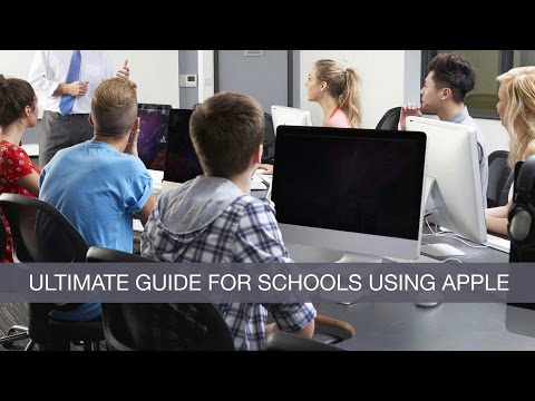The Ultimate Guide for Schools Using Apple Webinar