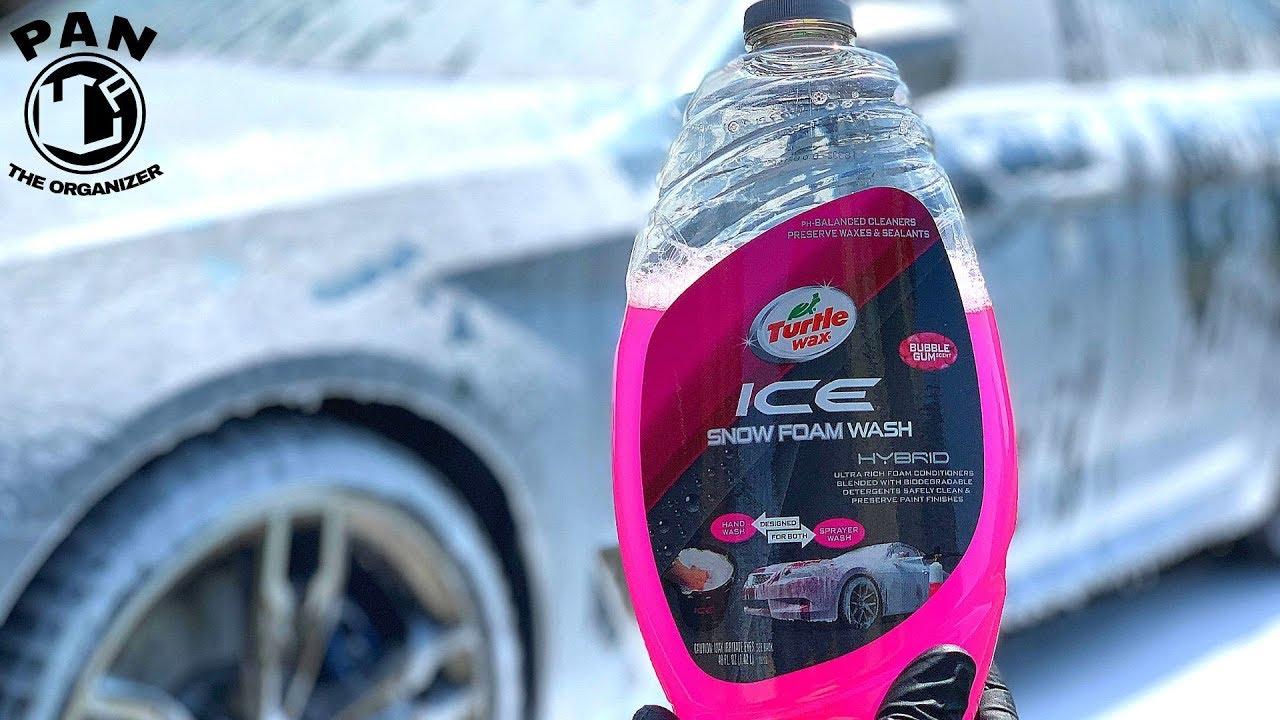 TURTLE WAX ICE SNOW FOAM : Is it good ??