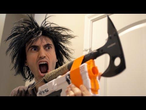 NERF WAR: Nerf Gun Rival 2!