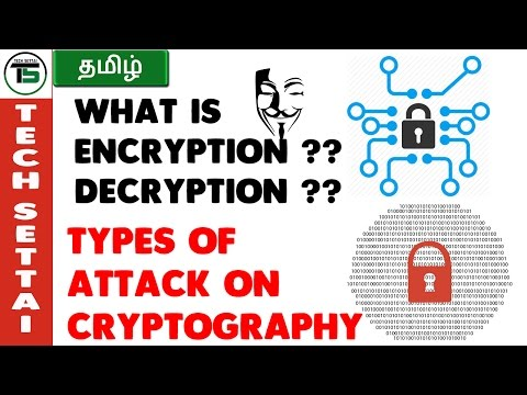 what is encryption and decryption ? about cryptography | TECH SETTAI TAMIL