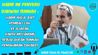 Habib ahlul bait kembalilah ke ajar...