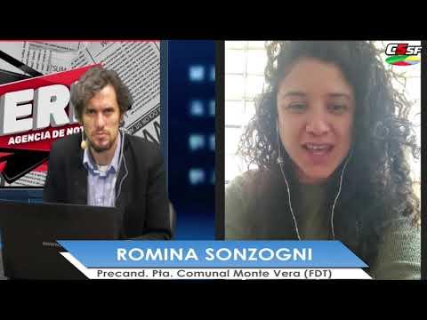 Romina Sonzogni: Trabajar y gestionar por lo que necesita Monte Vera