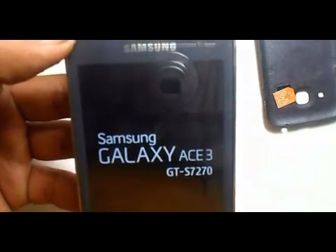 Samsung Galaxy ace3 Factory Reset